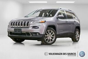 2014 Jeep Cherokee Limited + CUIR + CAMERA + BLUETOOTH