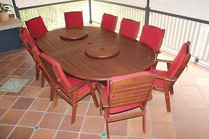 13 Piece Outdoor Dining Setting for Sale Now Milton Brisbane North West Preview