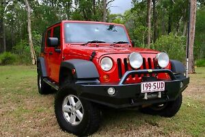 Jeep Wrangler Unlimited Petrol 2007 Burbank Brisbane South East Preview