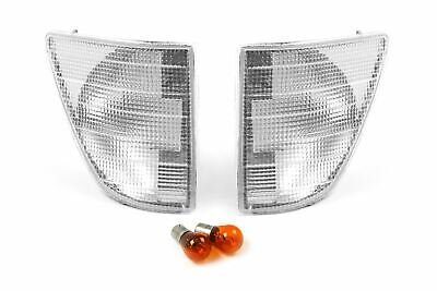 Mercedes-Benz Sprinter 96-00 Front Indicators Repeaters Set Pair With Bulbs