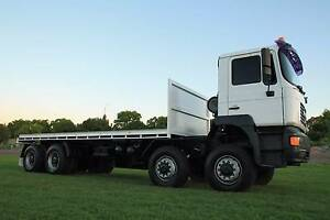 Auction Advertising - 2004 MAN 8x8 Tray Truck - Low Km's GVM 41T Pooraka Salisbury Area Preview