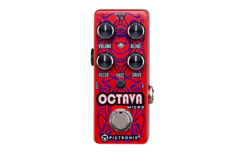 Pigtronix OCT Octava Micro Octave Fuzz / Distortion Effects Pedal