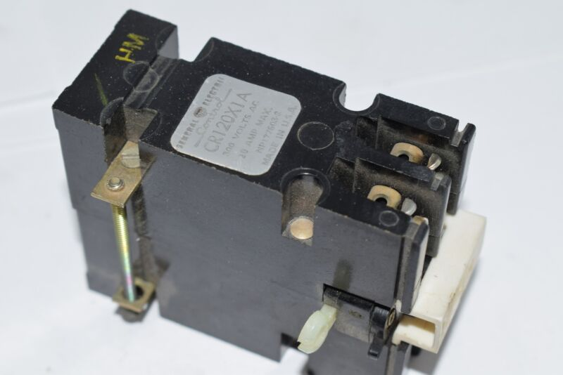 GE General Electric CR120X1A Time Delay Relay 300V AC 10 Amp