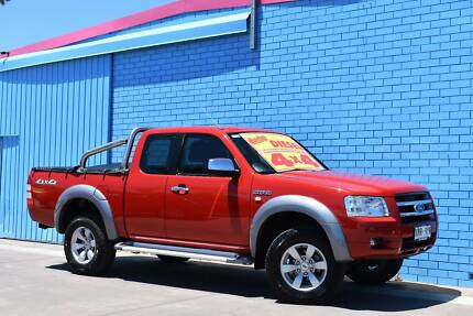 2008 Ford Ranger Ute- SUPER CAB TURBO DIESEL 4x4 Enfield Port Adelaide Area Preview