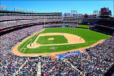 Rangers Ballpark In Arlington (Plakat, Viele Größen; Rangers Ballpark in Arlington)