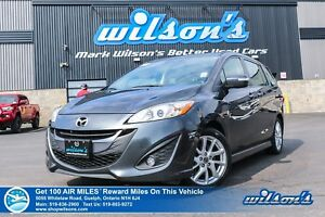 2017 Mazda Mazda5 GT LEATHER | SUNROOF | BLUETOOTH | NEW TIRES |
