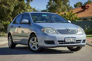 2005 Toyota Corolla Sedan Wattle Grove Kalamunda Area Preview