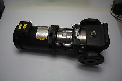 Grundfos Vertical Pump Cr2-30 U-g-a-auue Baldor Motor 84.z00003 .75hp 3ph Used