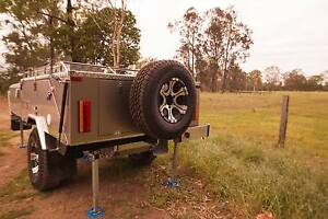 Austrack Campers CANNING Rear Folding Hard Floor Camper Trailer Caboolture Caboolture Area Preview