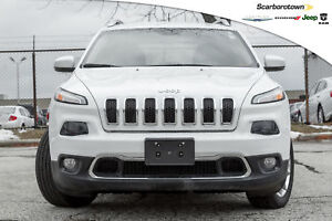 2016 Jeep Cherokee Limited+4X4+PAN-ROOF+NAV+WOOFER+MORE