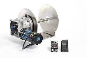 550W, 1000W, & 1500W Savwinch Run Out Drum Anchor Winches Coomera Gold Coast North Preview