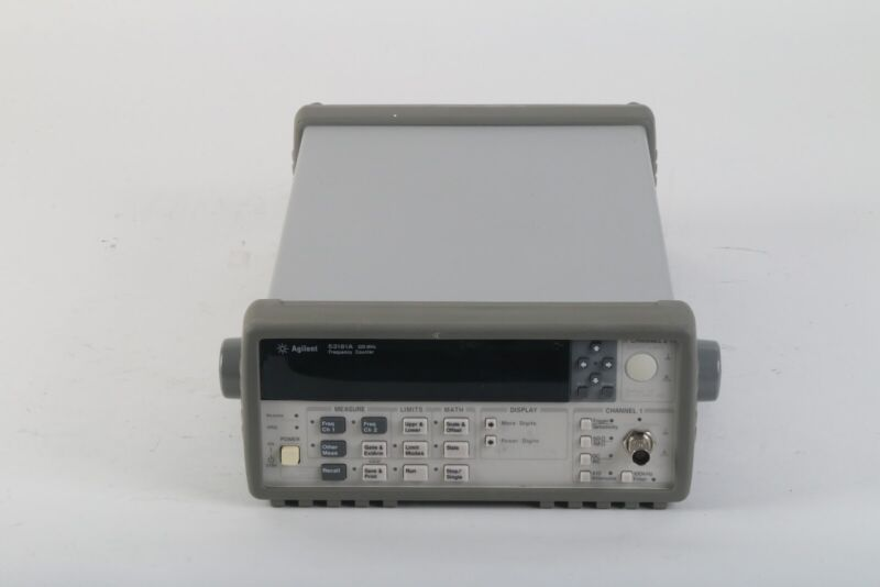 HP Keysight Agilent 53181A Frequency Counter 225 MHz Version