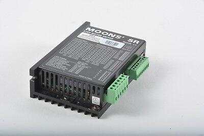 Moons Sr4 Step Motor Driver - Output 4.5a - Input 24-48v Dc
