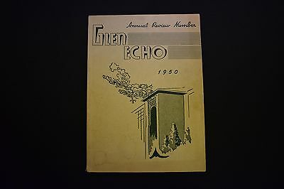 1950 The Glen Echo Codorus Township High School Glenville Pa Unsigned Yearbook