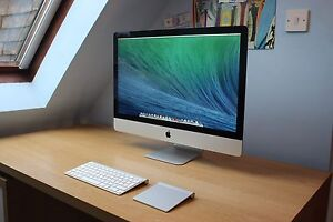 """Imac 27"""" Late 2012  with full accessories (NEW)"""