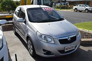 2008 Holden Barina Hatchback Frenchville Rockhampton City Preview