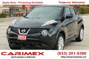 2013 Nissan Juke SV ONLY 45K | AWD | CERTIFIED