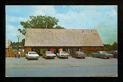 Arkansas AR postcard Fairfield Bay Recreational Center chrome