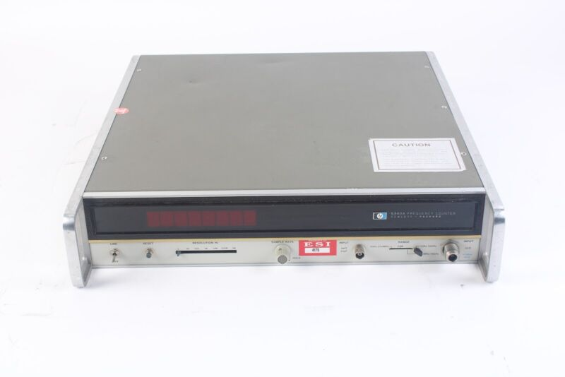 HP / Agilent / Keysight 5340A Frequency Counter 10GHz-18GHz With Option 005