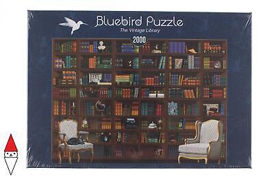 PUZZLE OGGETTI BLUEBIRD LIBRERIA THE VINTAGE LIBRARY 2000 PZ