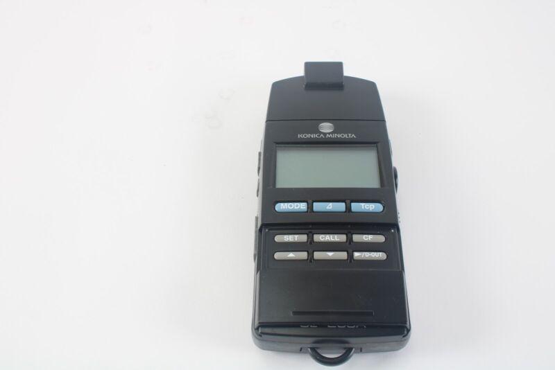 Konica Minolta CL-200A Chroma Meter With Lan Head - Fair Condition