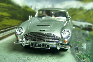 007 JAMES BOND Aston Martin DB5 1:43 CAR MODEL Goldfinger Hill Scene 1964 BOXED