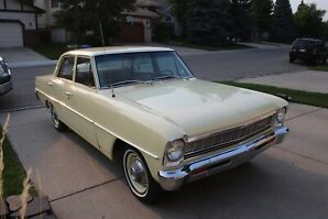 '66 CHEVY II 4-door Sedan, Excellent Condition