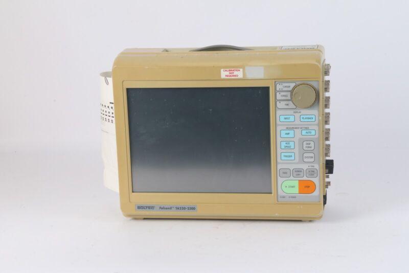 Soltec TA220-2300 Portable Data Acquisition Recorder W/ 6x AP11-110 1x AP11-106A
