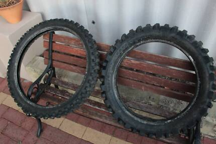 2 x Motorcross Tyres Michlein almost new Bayswater Bayswater Area Preview