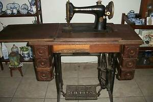 singer treadle sewing machine Bald Hills Brisbane North East Preview