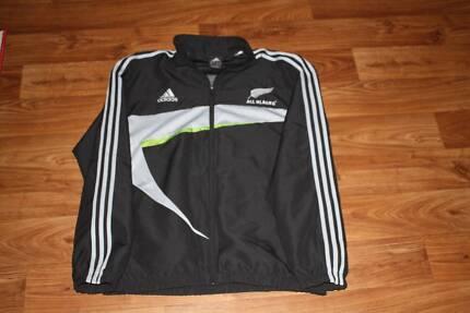 All Blacks Adidas Players Team Squad Tracksuit Jacket XL