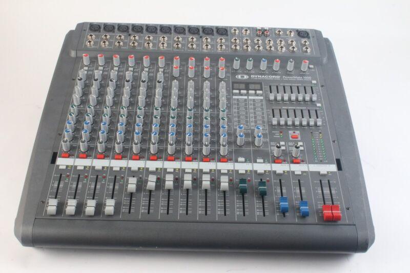 Dynacord PM1000-2 PowerMate 1000 2x700 Watts Powered Mixer