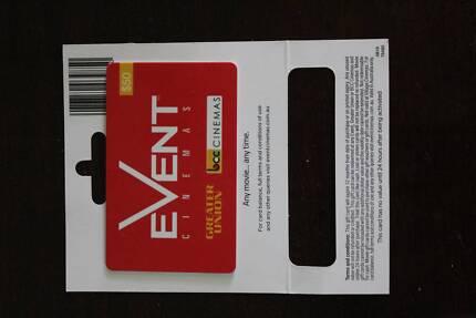 $50 Event Cinema gift card