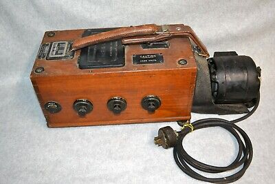 Vtg Biddle Megger Wire Inspection Tester Welectric Motor Ill Public Service Co