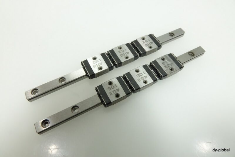 THK 3RSR5M+105L Miniature LM Guide Linear Bearing micro actuator 2Rail 6block