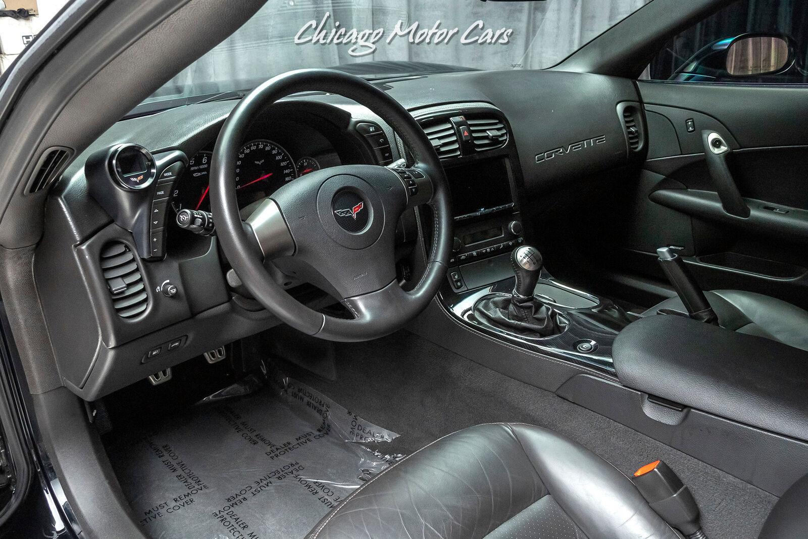 2008 Black Chevrolet Corvette Z06 3LZ | C6 Corvette Photo 8