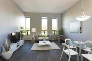 Loft Style 1BR with In-Suite Laundry - 13th month rent FREE!