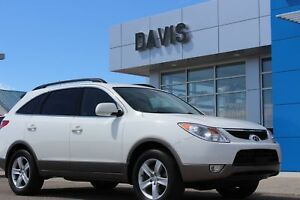 2012 Hyundai Veracruz Heated leather front seats, sunroof, re...