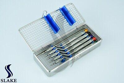 Osteotome Concave Sinus Lift Implantology Set Dental Instruments With Cassette