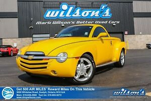 2004 Chevrolet SSR SSR CONVERTIBLE | 5.3L | LEATHER | HEATED SEA