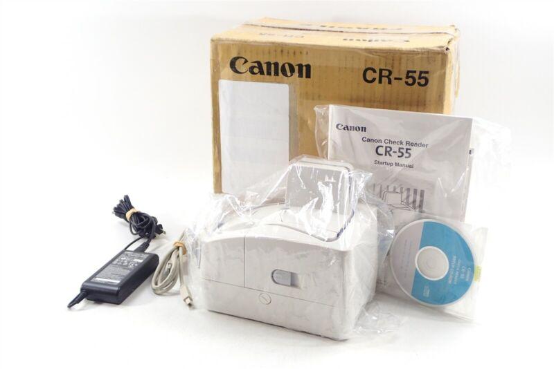 New Open Box Canon imageFORMULA CR-55 Check Transport Check Scanner