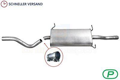 Anbauteile Mercedes-Benz Vito//Viano Lang//extra Lang IMASAF Auspuff Endtopf