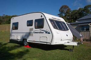 Swift Ace Celebration 470 lightweight British caravan Kurrajong Hawkesbury Area Preview