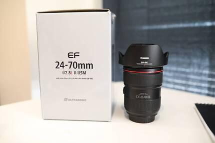 sell lens canon 24-70mm f/2.8L II USM
