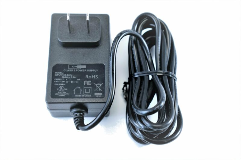 [UL Listed] OMNIHIL 8 Feet Long AC/DC Adapter Compatible with PYLE PBMSPG190
