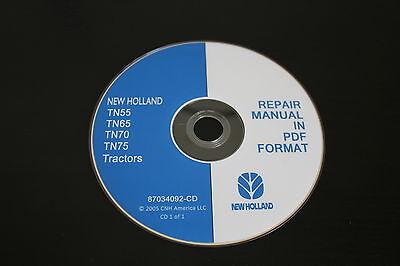 New Holland Tn55 Tn65 Tn70 Tn75 Tractor Service Repiar Manual