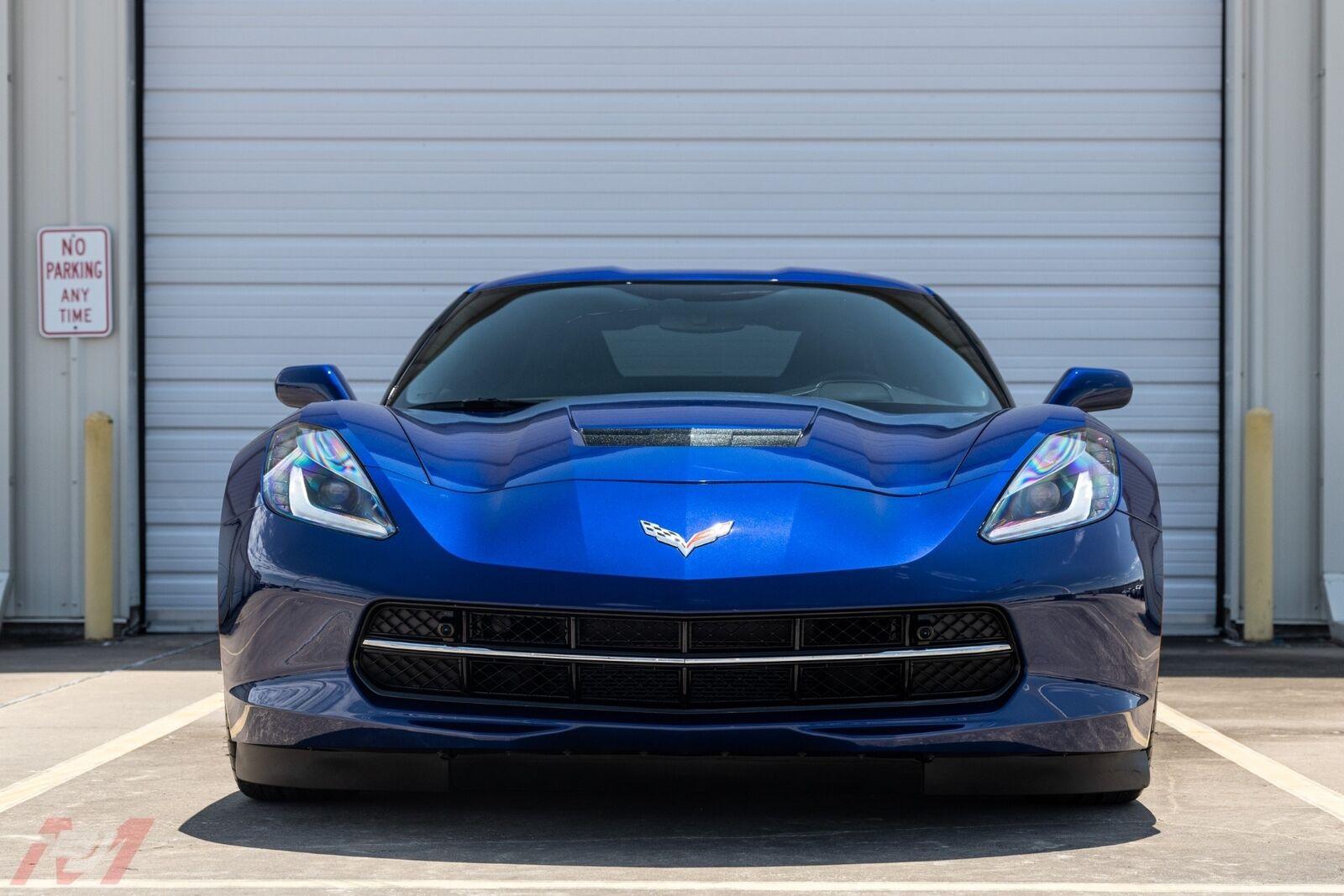 2017 Blue Chevrolet Corvette  2LT | C7 Corvette Photo 6