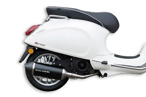 Malossi Racing Exhaust for Vespa Primavera and Sprint 150 iGet