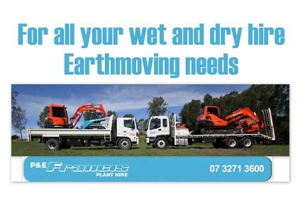 P&E Francis Plant Hire Wacol Brisbane South West Preview