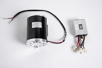 1000w 48v Dc Electric Motor Kit W Base Control Box F Scooter Ebike Gokart Diy